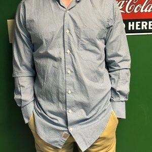 Small Peter Millar long sleeve button down shirt